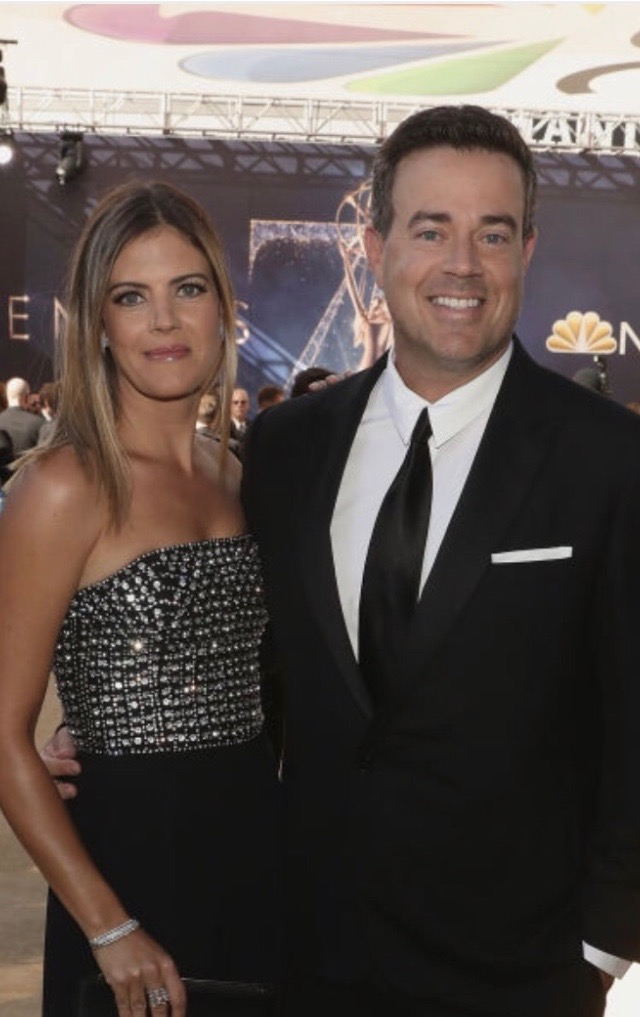 Siri and Carson Daly Emmys 2018 Make Up By Kristi Fuhrmann-Kerr